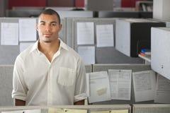 mężczyzna biura portret fotografia stock