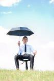 Mężczyzna biznesowa pozycja Zdjęcie Stock