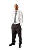mężczyzna biznesowa przystojna pozycja Zdjęcie Stock