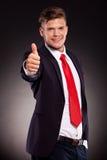 Mężczyzna biznesowe aprobaty Zdjęcie Stock