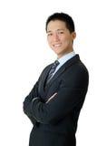 mężczyzna biznesowi szczęśliwi potomstwa Zdjęcie Stock