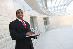 mężczyzna biznesowy przystojny biuro Fotografia Royalty Free