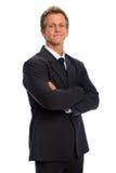 mężczyzna biznesowy przystojny kostium Obrazy Stock