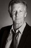 mężczyzna biznesowy przystojny senior Fotografia Stock