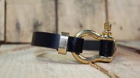 Mężczyzna bransoletka Fotografia Royalty Free