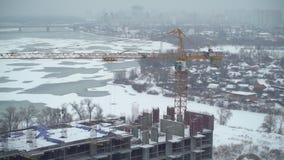 Mężczyzna budowy mieszkania dom zdjęcie wideo