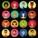 Mężczyzna charakterów wektoru set Obraz Royalty Free