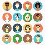 Mężczyzna charakterów wektoru set Obrazy Stock