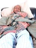 mężczyzna choroba Obraz Royalty Free