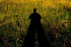 Mężczyzna cień Fotografia Stock