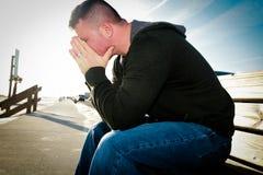 mężczyzna czuciowy stres