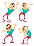 mężczyzna dancingowi potomstwa Fotografia Royalty Free