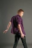 mężczyzna dancingowi potomstwa Obrazy Stock