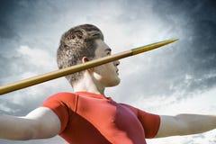 Mężczyzna dardy rzut zdjęcie stock