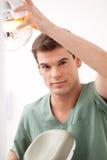 Mężczyzna dentysty portret Obraz Royalty Free