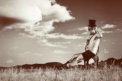 mężczyzna dolina Obrazy Royalty Free