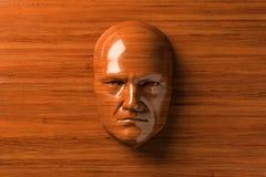 Mężczyzna drewno Obraz Royalty Free