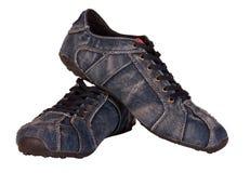 Mężczyzna dwa buta Zdjęcia Royalty Free