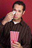 mężczyzna filmu dopatrywanie Zdjęcia Stock