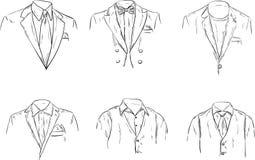 Mężczyzna formalny kostium royalty ilustracja