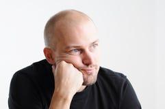 mężczyzna główkowanie Fotografia Stock