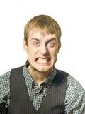 mężczyzna gniewny odosobniony gniew zdjęcia stock