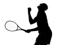 Mężczyzna gracz w tenisa Zdjęcia Royalty Free