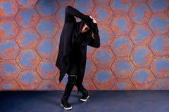 Mężczyzna hip hop, tancerz/r&b, przerwy/ fotografia royalty free