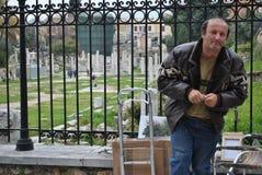 Mężczyzna i jego ulica Zdjęcie Royalty Free
