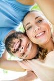 Mężczyzna i kobieta jak szczęśliwa para obraz royalty free