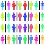 Mężczyzna i kobiety Fotografia Stock