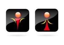 Mężczyzna i Kobiety ikona. Zdjęcia Stock