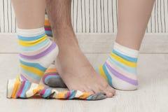 Mężczyzna i kobiety nogi Obraz Stock