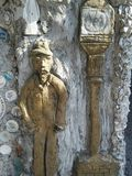 Mężczyzna i latarnia Obrazy Stock