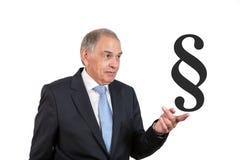 Mężczyzna jako urzędnik, przedstawiciel, agent lub sprzedawca, Zdjęcie Stock