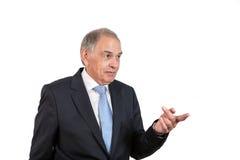 Mężczyzna jako urzędnik, przedstawiciel, agent lub sprzedawca, Obrazy Stock