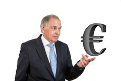 Mężczyzna jako urzędnik, przedstawiciel, agent lub sprzedawca, Zdjęcia Stock