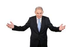 Mężczyzna jako urzędnik, przedstawiciel, agent lub sprzedawca, Obraz Stock