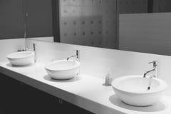 mężczyzna jawna toaleta (Filtrujący wizerunek przetwarzający rocznik Zdjęcie Stock