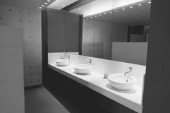 mężczyzna jawna toaleta (Filtrujący wizerunek przetwarzający rocznik Fotografia Royalty Free