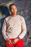 Mężczyzna jesieni Przypadkowa moda obrazy stock