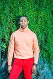 Mężczyzna jesieni Przypadkowa moda w Nowy Jork obrazy royalty free