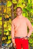 Mężczyzna jesieni Przypadkowa moda w Nowy Jork obrazy stock