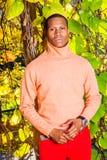 Mężczyzna jesieni Przypadkowa moda w Nowy Jork obraz royalty free