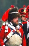 Mężczyzna jest ubranym futerkowego kapelusz Obrazy Stock