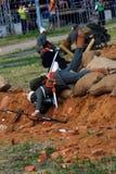 Mężczyzna kłaść na ziemi Fotografia Stock