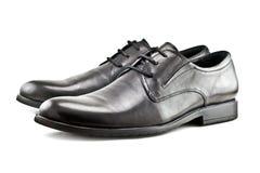 Mężczyzna klasyka buty odizolowywający na białym tle Fotografia Royalty Free