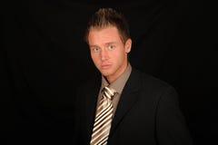 mężczyzna kostiumu krawata być ubranym Fotografia Royalty Free