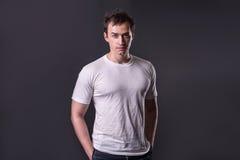 mężczyzna koszula t Fotografia Stock