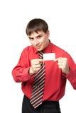 mężczyzna koszulowi krawata potomstwa Fotografia Stock